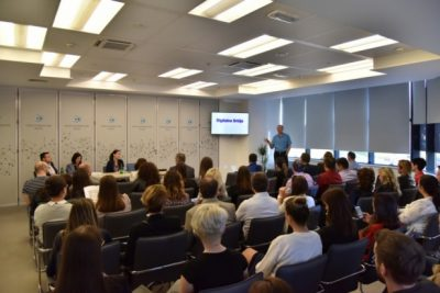 Projekat CODE, studijska poseta NTP-u Beograd