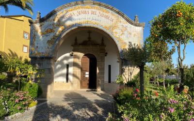 Se reanuda la misa de los jueves en la Ermita Ntra. Sra. del Salobrar
