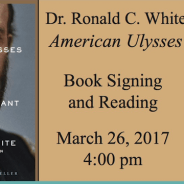 March 26, 2017 – Ron White American Ulysses Book Signing and Reading