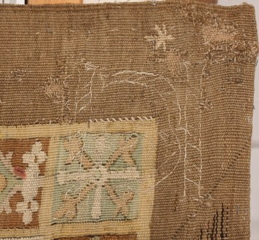 Six pointed star on tapestry j.