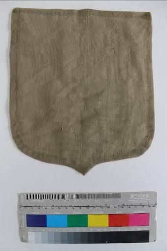 Gideon shield reverse ©National Trust/Textile Conservation Studio
