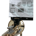Trumpet Clip On Bell Lyre