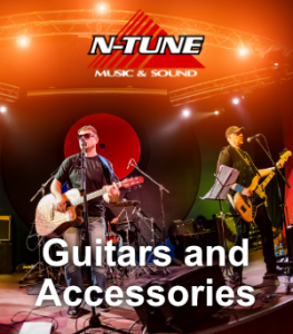 Guitars, Cables, Strings and Microphone Accessories