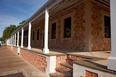 Old Courthouse and Police Station (1884), Darwin, Northern Territory, Australia