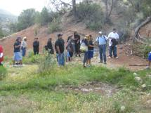 Education and outreach, Red Spring enhancement project, in Peach Springs, Canyon Hualapai Indian Reservation