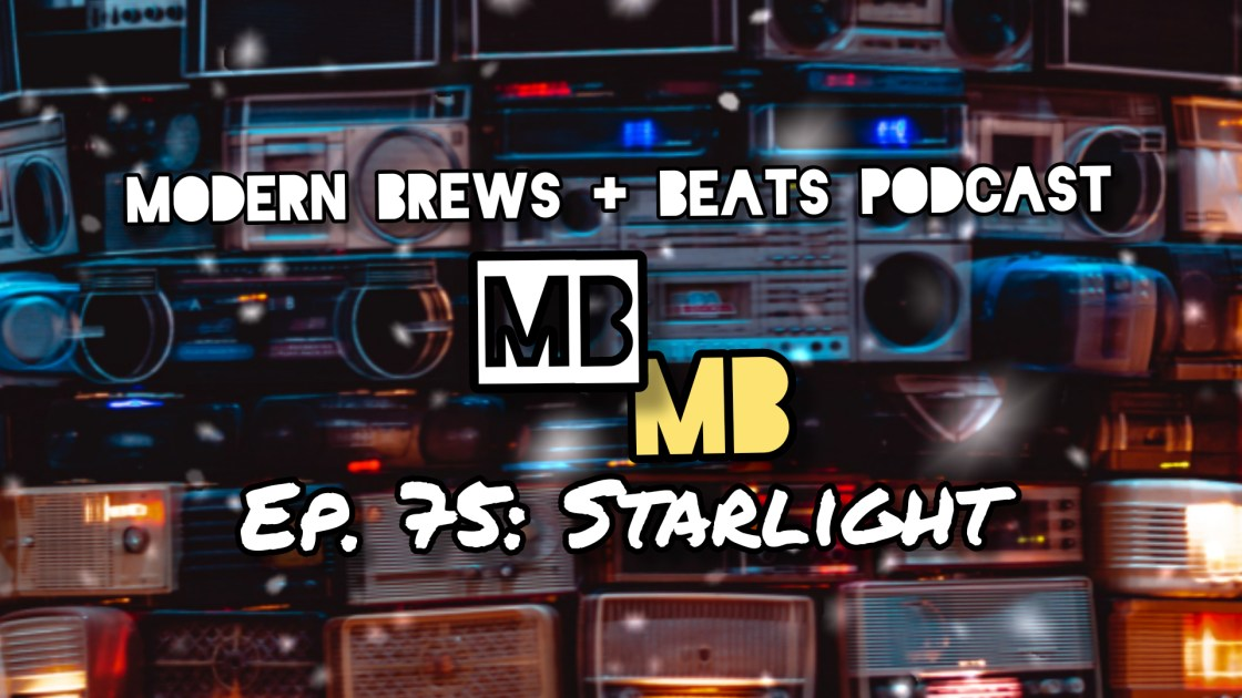 Image of radios, speakers, and clocks from the website, Unsplash, serving as the cover for Modern Brews + Beats, episode 75: Starlight