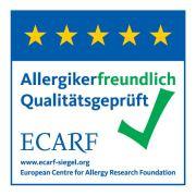 Allergikerfreundlich nach ECARF