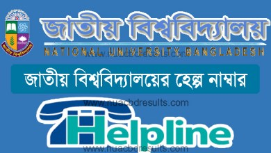 National University Gazipur Helpline