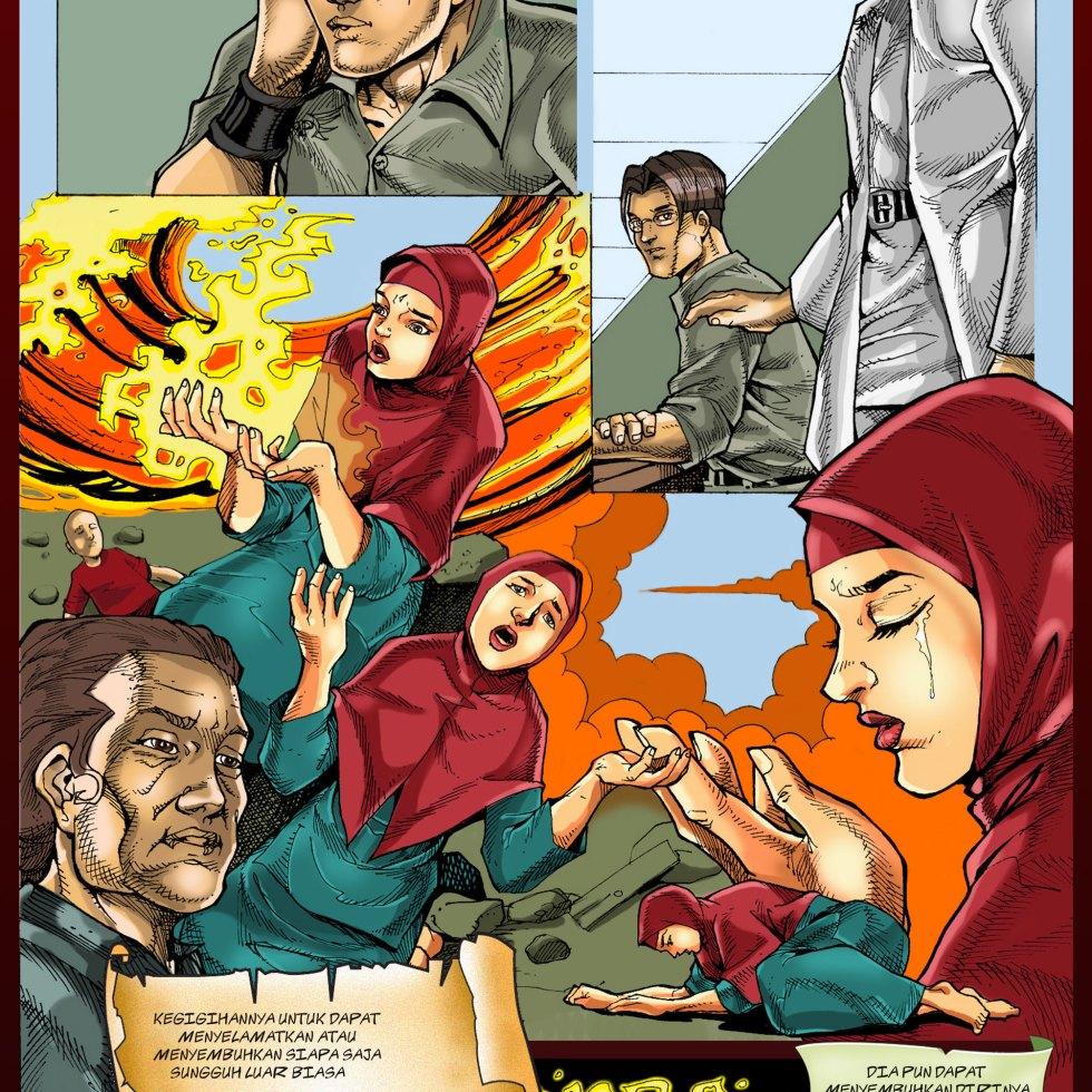 Komik Para-Protektor No. e2-011