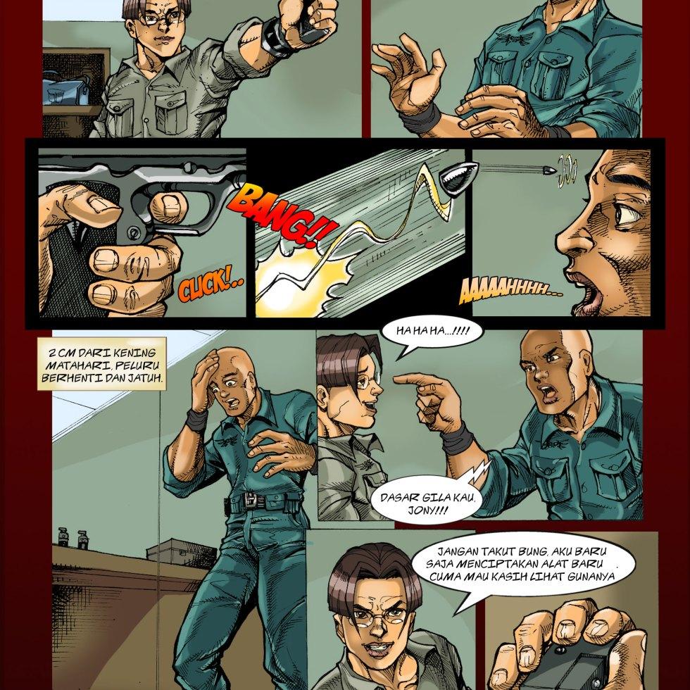 Komik Para-Protektor No. e2-008
