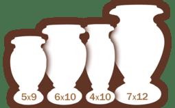 Marble Vase Sizes