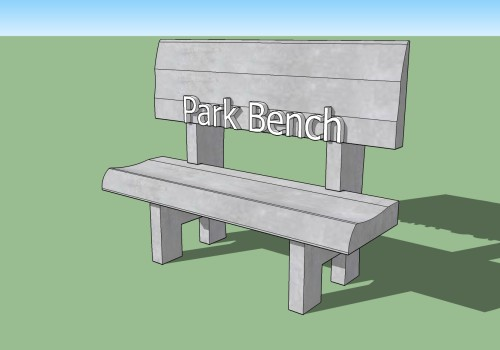 park bench1