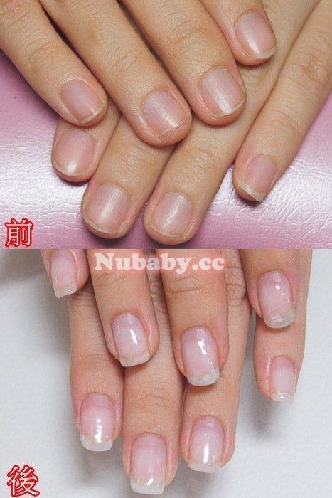 軟甲摳甲扇型-小慧指甲前端軟又扇形