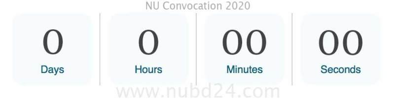 nu convocation 2020