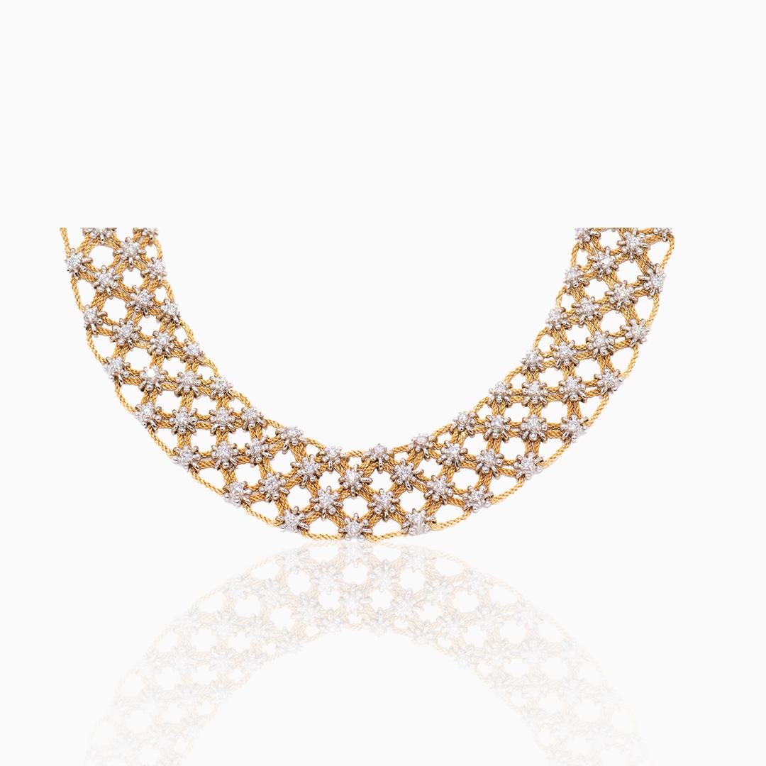 Gargantilla de Oro y Diamantes