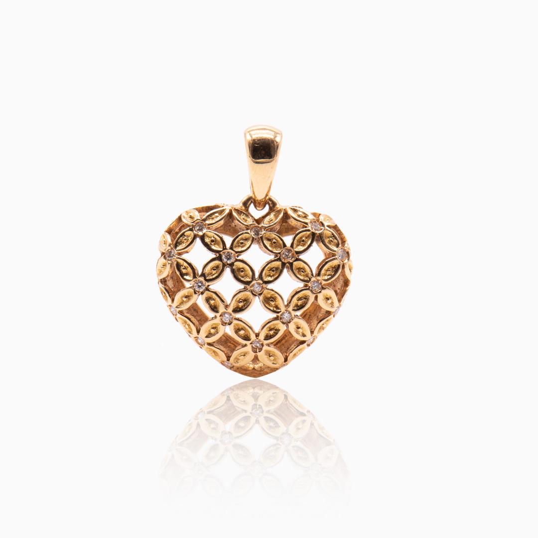 Colgante de Oro y Diamantes