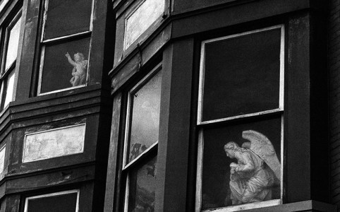 Angel & Cherubs by George Krause, Philadelphia 1962