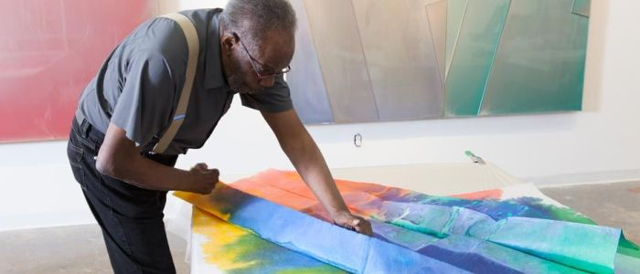 Block Museum Receives Gift of Work By American Artist Sam Gilliam