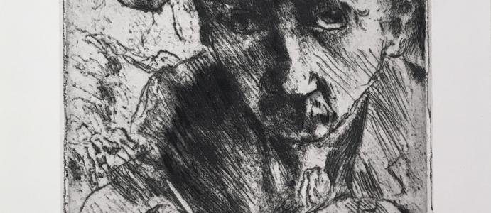Collection Spotlight: Death and the Artist (Tod und Künstler), Lovis Corinth