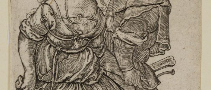 Collection Spotlight: Peasant Couple Dancing, Sebald Beham