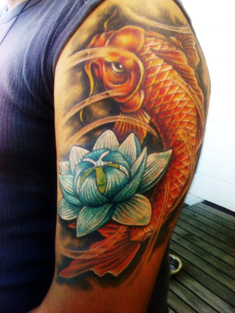 Significado De Los Tatuajes De Pez Koi Iceman Ink