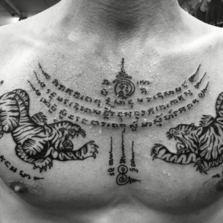tatuajes tailandeses