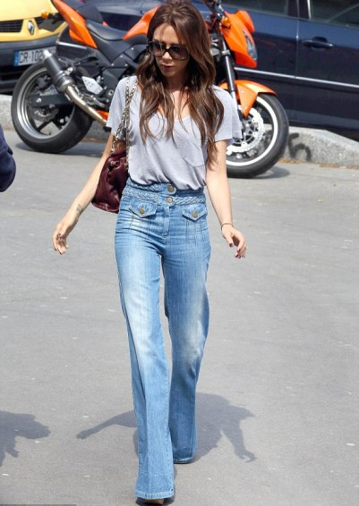 Get Ahead Of The Trend With High Waisted Wide Leg Jeans |