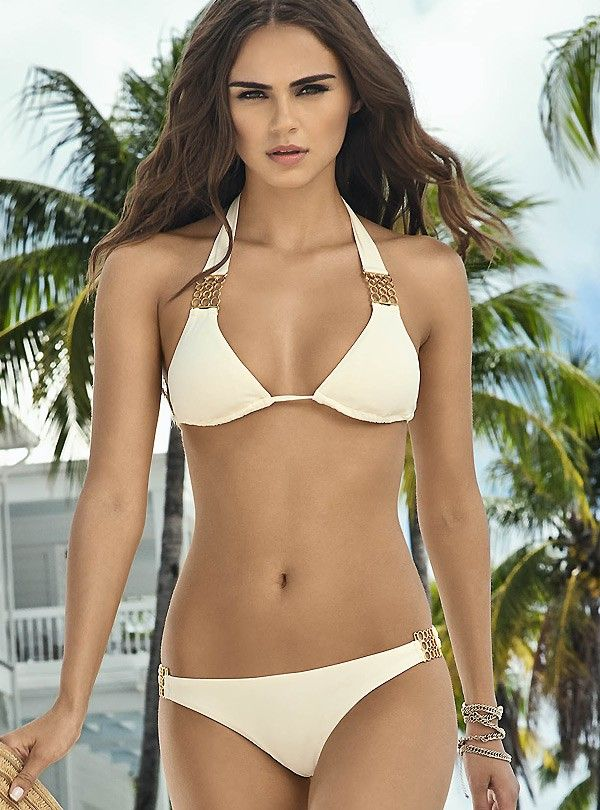 how to choose bikini top for figure - halter bikini top - sunbain