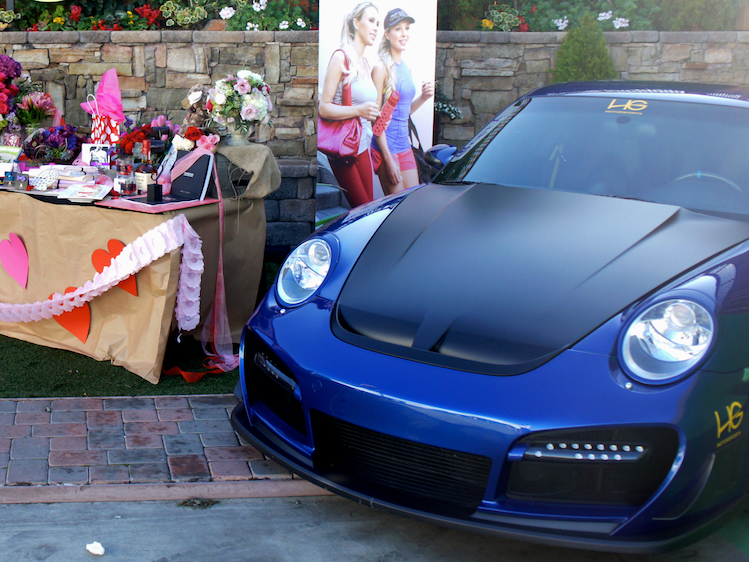 Customize his Porsche and make it one-of-a-kind at HG Motorsports!