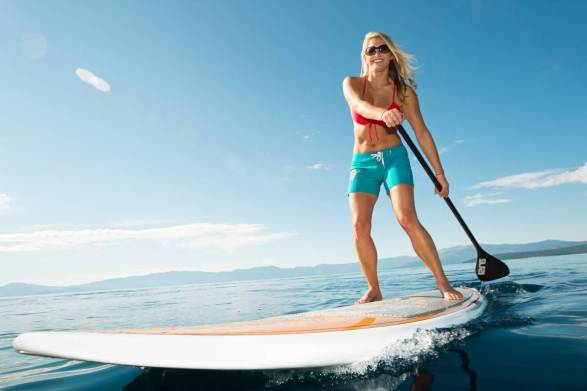 mothers day ideas - paddle boarding