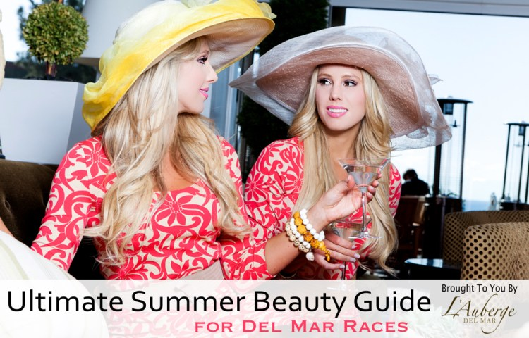 summer beauty guide for del mar races