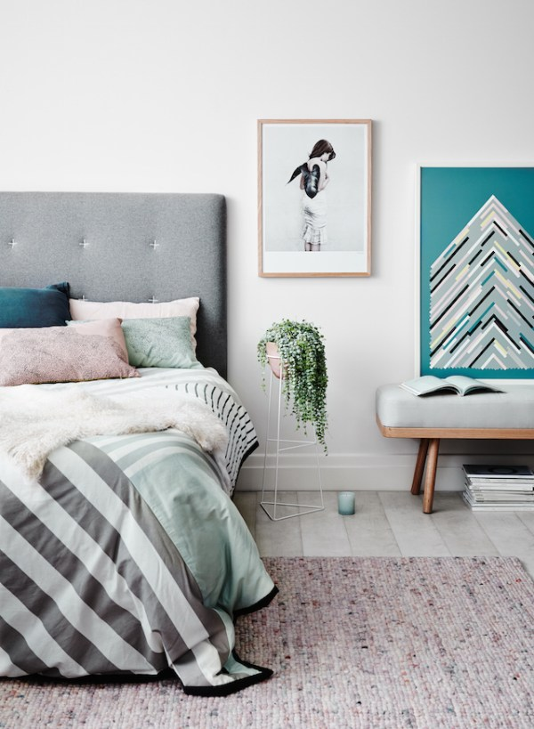 complementary patterns add life to a room