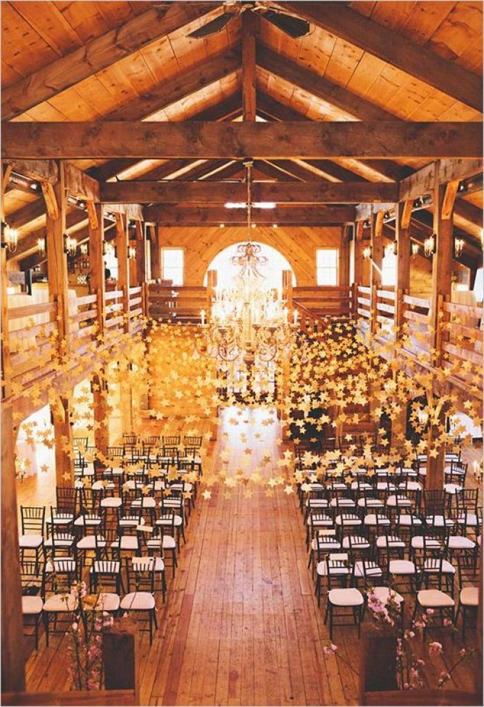 barn themed wedding