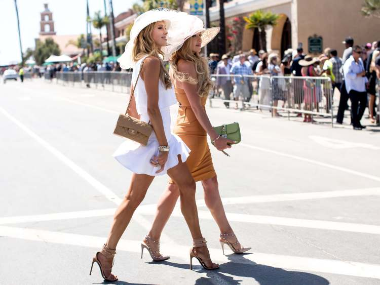 What to wear Opening Day Del Mar Races 4