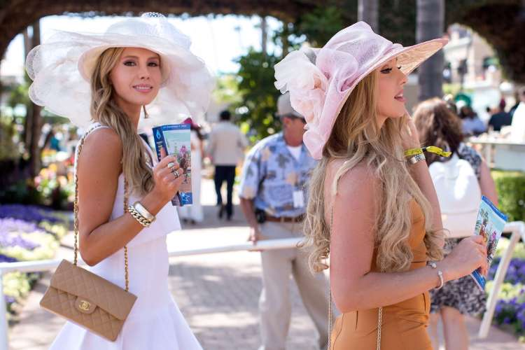 womens hats opening day del mar