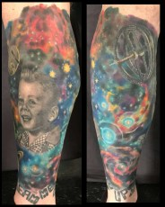 Outer Space/ Sci-fi/ Portraits Leg