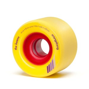 66mm Orangatang Wheels Keanu Yellow