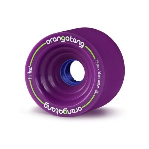 75mm Orangatang Wheels In Heat Purple