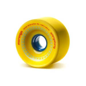 72.5mm Orangatang Wheels Moronga Yellow