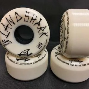 61mm Landshark Wheels Sidecuts 97A