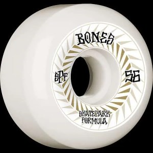56mm Bones Spines Skatepark Formula Wheels
