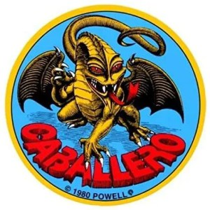 Powell Caballero Dragon Reissue Sticker