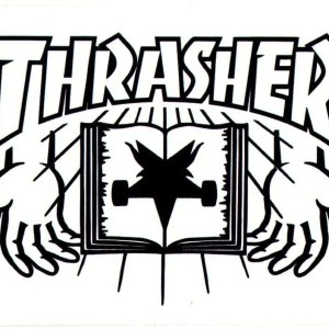 Thrasher Skate Bible Sticker