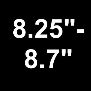 "For Decks 8.25"" - 8.7"" Wide"