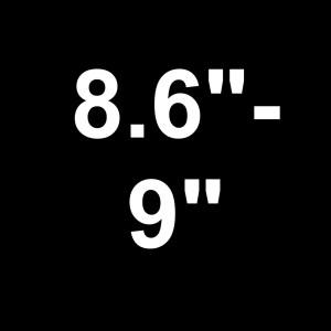 "For Decks 8.6"" - 9"" Wide"