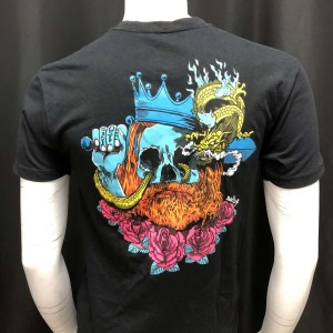 Deathwish Blacklight Shirt Small