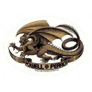Powell Peralta Oval Dragon Sticker Reissue