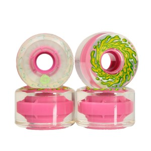 60mm Slimeballs Wheels OG Slime Clear Pink 78A