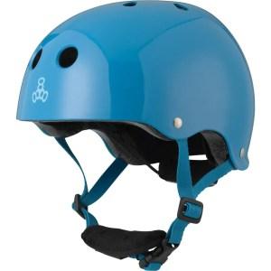 Triple 8 Lil 8 Glossy Blue Helmet Small