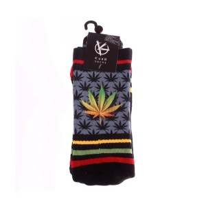 Kurb Double Hemp Rasta Socks